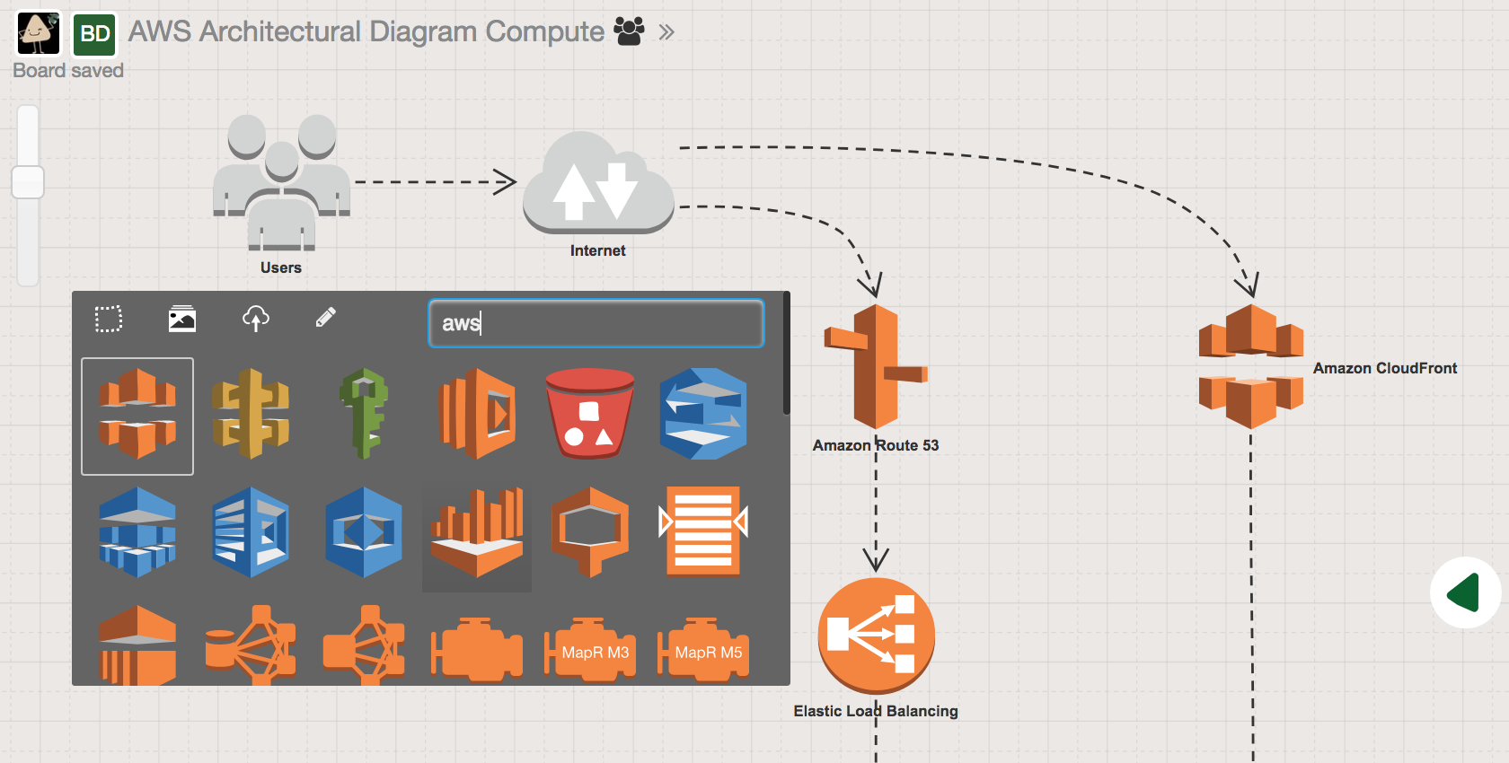 Draw AWS Architecture Diagrams Online