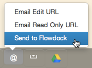 Send to Flowdock