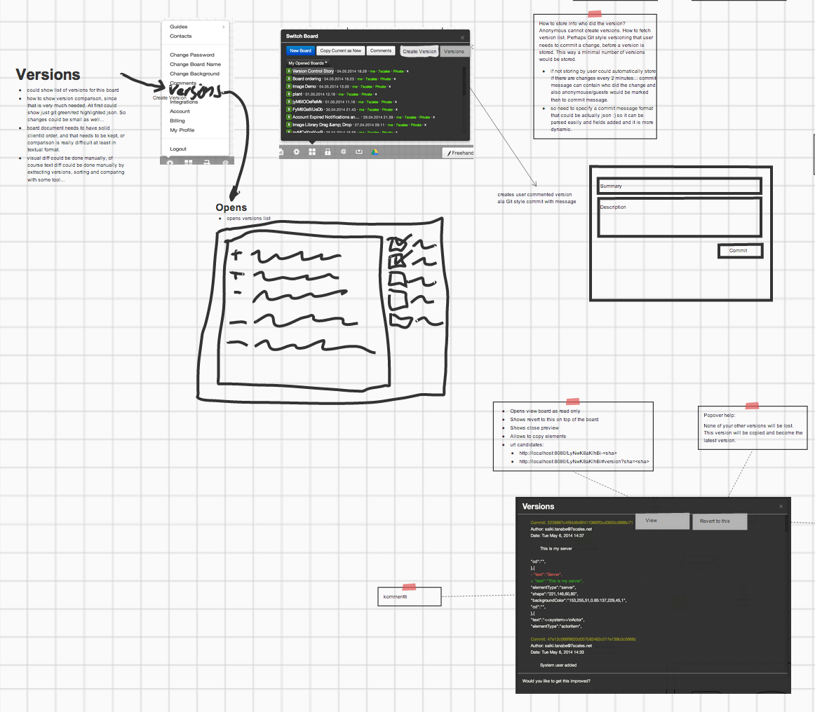 Sketch Design User Interface Sketch